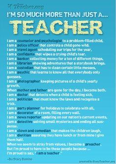 More than just a teacher....