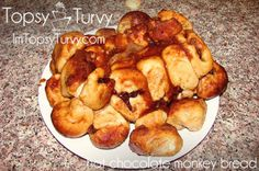 Stuffed Hot chocolate monkey bread recipe and tutorial