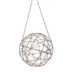 Aged Iron Wire Sphere | Lazy Susan