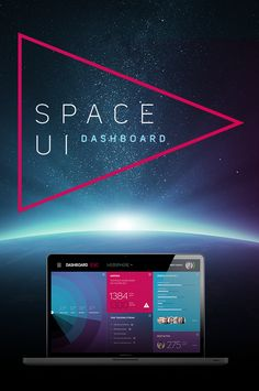 SPACE UI Dashboard on Web Design Served