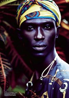 African Male Model