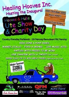 Gold Coin charity Event. 10th October from 10am.