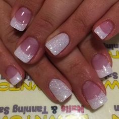 Best French Manicures - 71 French Manicure Nail Designs - Best Nail Art #NaturalNails