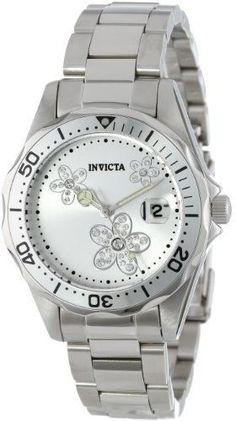 Invicta Women's Angel 12506 Silver Stainless Steel Watch