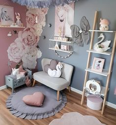 Baby Bedroom Princess Daughters 33 New Ideas Baby Bedroom, Girls Bedroom, Nursery Room, Decor Room, Bedroom Decor, Home Decor, Bedroom Ideas, Baby Zimmer Ikea, Ideas Habitaciones