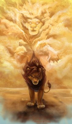 Lion King. This picture is so beautiful and is from the single most inspirational part of that movie! Seriously, watch this scene & try to not be moved!