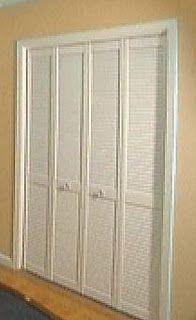 ReliaBilt 36 In X 79 In Louvered Solid Wood Core Interior Bifold Closet Door