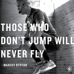 Big ambitions = big results. You have to jump to fly. #notimeforaverage