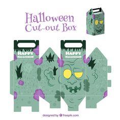 Scatolina di Halloween da stampare e costruire n.2