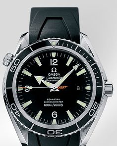 OMEGA Seamaster Planet Ocean Big Size Steel on Rubber James Bond Limited Edition 2006 Casino Royale