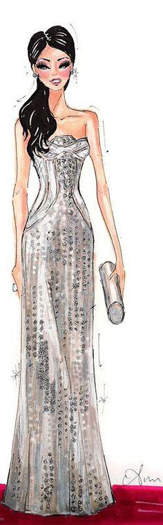 Fashion Illustration Print by Anum Tariq Fashion 2018, Fashion Art, Love Fashion, Editorial Fashion, Girl Fashion, Fashion Dresses, Illustration Mode, Fashion Illustration Sketches, Fashion Design Sketches