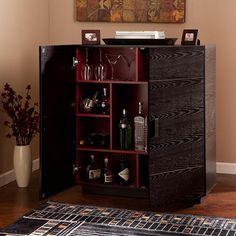 Modesto Brown Bar Cabinet by Baxton Studio by Baxton Studio ...