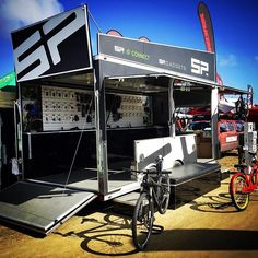 We are ready! If you are at seaotterclassic2017 please come by and check out the #spconnect & #spgadets #trailer - booth #324 & #326 . . #bike #cyclefestival #seaotterclassic #bicycleaccessories #cycling #iphone #actioncamera #gopro #mountainbike #roadbike #california #connectyouractivelife #addmorefunction #fun #lagunasecaraceway #lagunaseca #instatech #monitor #technology #gadget
