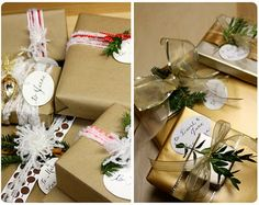 All things beautiful....: Gift wrapping ideas