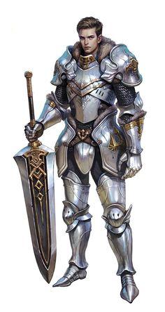 m Paladin Plate Sword ArtStation - knight, Yesun Jung Fantasy Warrior, Warrior Concept Art, Armor Concept, Fantasy Male, Fantasy Rpg, Medieval Fantasy, Fantasy Artwork, Fantasy Character Design, Character Design Inspiration