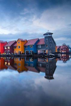 Dusk, The Netherlands photo via doug
