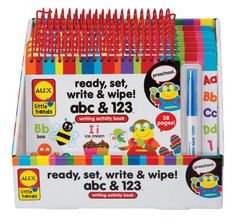 ALEX® Toys - Early Learning Ready, Set, Write -Little Hands 1403 Alex Toys http://www.amazon.com/dp/B003B7L9LI/ref=cm_sw_r_pi_dp_u04Jub17PMB16