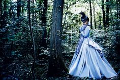 Keira Knightly in  Jacqueline Durran Costume for Vogue Anna Karenina