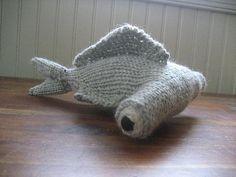 Free - Ravelry: Hammerhead Shark amigurumi knitted pattern // by Mary Kate Long Loom Knitting, Free Knitting, Baby Knitting, Knitting Toys, Animal Knitting Patterns, Crochet Patterns, Crochet Toys, Knit Crochet, Hammerhead Shark