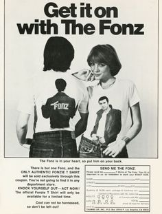 Get it on with The Fonz