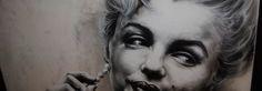 paintaddiction Artist Shane Turner of Paint Addiction, Paints Marilyn Monroe. Marilyn Monroe, Addiction, Halloween Face Makeup, Coconut, Christian, Artist, Painting, Painting Art, Christians