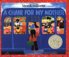 A Chair for My Mother 25th Anniversary Edition by Vera B. Williams: A family favorite! #Vera_B_Williams #A_Chair_for_My_Mother #Books #Kids