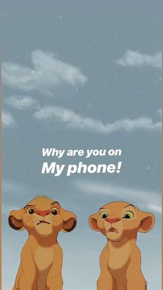 You're busy … – Ideas Wallpaper Disney Lion King Posts – # – Mondays # 49 To think too much is like rocking. You're busy … – Ideas Wallpaper Disney Lion King Posts – … Iphone Wallpaper Vsco, Cartoon Wallpaper Iphone, Disney Phone Wallpaper, Mood Wallpaper, Homescreen Wallpaper, Iphone Background Wallpaper, Locked Wallpaper, Cute Cartoon Wallpapers, Funny Wallpapers For Iphone