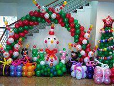 украшение школы к новому году воздушными шарами: 24 тыс изображений найдено в Яндекс.Картинках