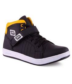 Kraasa Black Sneaker Shoes - http://weddingcollections.co.in/product/kraasa-black-sneaker-shoes-3/