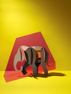 Hermès Petit h - Construction form baby elephant #hermes #petith designed by Studio ROOF:)