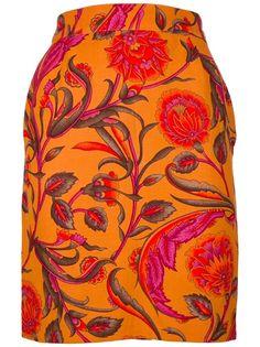 GENNY VINTAGE Floral Skirt