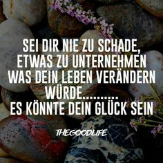 Glück Text Quotes, Words Quotes, Funny Quotes, Sayings, German Quotes, Word 2, Happy Words, Blog Writing, How I Feel
