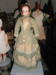 Antique French Fashion Doll - Jumeau - about 1880 - 32 cm - 12,59 inch | eBay