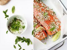 """Le principe du gralvax, c'est de """"cuire"""" lentement un filet de saumon grâce à du gros sel. Originaire des pays scandinaves, le gravlax est traditionnellement préparé avec de l'aneth, mais j'avais e..."""
