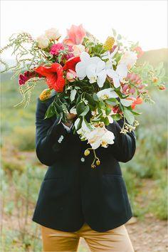 bridal bouquet by Bride Sidekick @weddingchicks