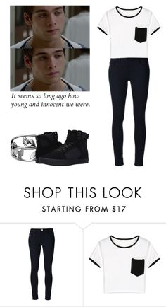 """""""Liam Dunbar - tw / teen wolf"""" by shadyannon ❤ liked on Polyvore featuring Frame, WithChic and Supra"""