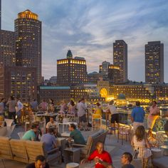The Best Rooftop Bars in Boston Lookout Rooftop and Bar at Envoy Hotel Boston Vacation, Boston Travel, Boston Weekend, Boston Shopping, Boston Strong, In Boston, Visit Boston, Greater Boston, South Boston