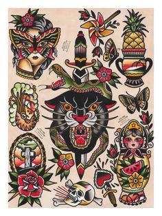 Panther Flash Sheet