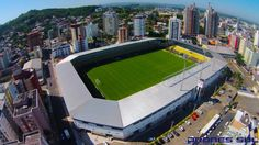 Arena Heriberto Hülse - Criciúma SC, Brasil Football Stadiums, Around The Worlds, America, City, Outdoor Decor, Santa Catarina, About Football, Hs Sports, Quizes