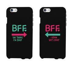 Funny bff phone cases - crazy best friend phone covers for iphone 4 Iphone 4, Bff Iphone Cases, Bff Cases, Funny Phone Cases, Ipod Cases, Coque Iphone, Phone Covers, Iphone 8 Plus, Phone Cases Samsung