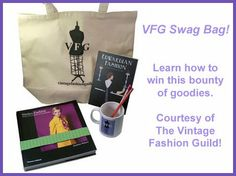 Let your vintage lovin' friends know: the 10,000th person to LIKE the Vintage Fashion Guild on Facebook will win this bounty of goodies!