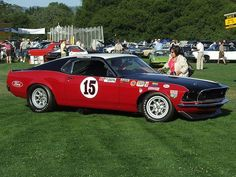 1969 Ford Mustang BOSS 302 Trans Am Race Car