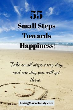 What little things have you been doing lately that make you happy? Those small steps toward happiness can begin the journey to your dreams. Self Improvement, Are You Happy, Dreaming Of You, Happiness, Journey, Dreams, Make It Yourself, Motivation, Life