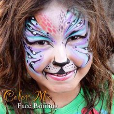 Tiger Face Painting - Color Me Face Painting