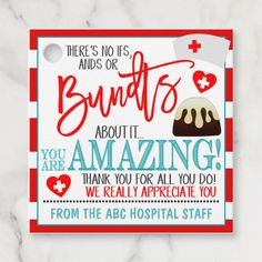 Nurses Week Gifts, Gifts For Coworkers, Nurse Gifts, Teacher Gifts, Daycare Gifts, Teacher Treats, Staff Appreciation Gifts, Staff Gifts, Customer Appreciation