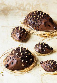 Little hedgehog chocolate