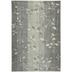 @Overstock - Contemporary design elements and hand-carved accents add visual and textural appeal to this polyester rug. This area rug features meticulously dyed yarn in shades of grey, ivory and brown.http://www.overstock.com/Home-Garden/Hand-tufted-Cosmopolitan-Stone-Rug-5-x-76/5659868/product.html?CID=214117 $138.03