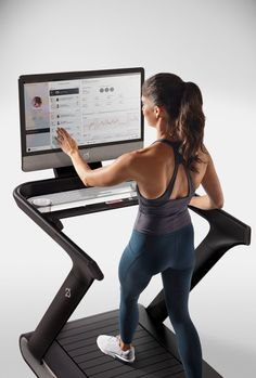 I helped create product launch images for Peloton's treadmill. Home Gym Equipment, No Equipment Workout, Fitness Equipment, Fun Workouts, At Home Workouts, Bike Design, Ux Design, Interior Design, Gym Room