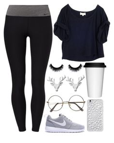 """""""Keep it simple"""" by skyler1213 ❤ liked on Polyvore featuring NIKE, Elizabeth and James, Felony Case, Sagaform, Wildfox, women's clothing, women's fashion, women, female and woman"""