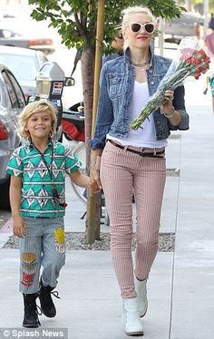 Gwen Stefani's son certainly live sup to his mommy's well-dressed standards.